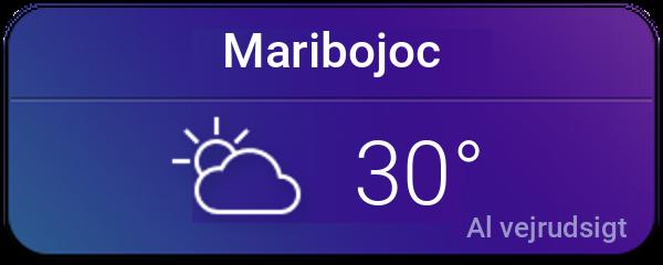Vejret i Maribo