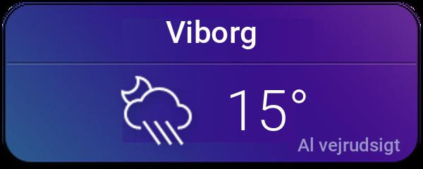 Vejret i Viborg