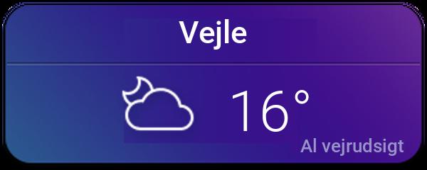 Vejret i Vejle