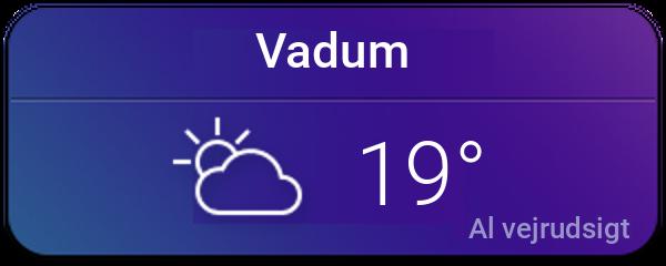 Vejret i Vadum