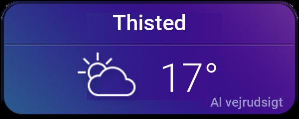 Vejret i Thisted