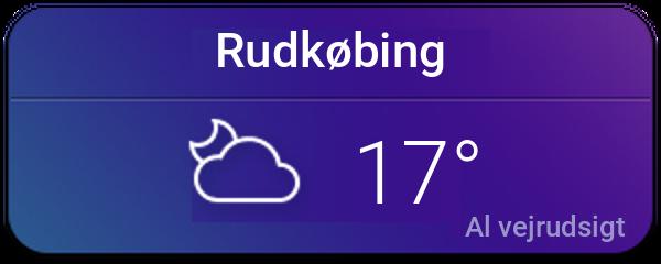 Vejret i Rudkøbing