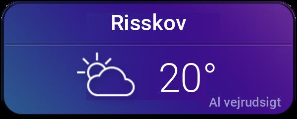 Vejret i Risskov
