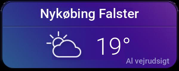 Vejret i Nykøbing Falster