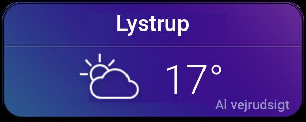 Vejret i Lystrup