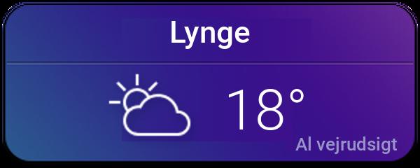 Vejret i Lynge