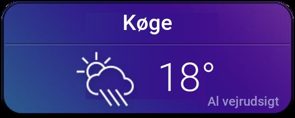 Vejret i Køge