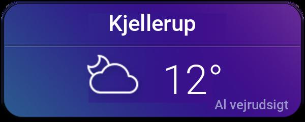 Vejret i Kjellerup