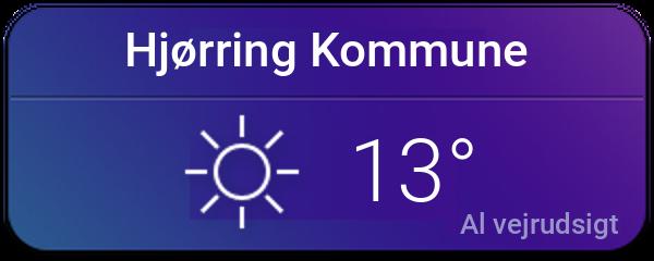 Vejret i Hjørring