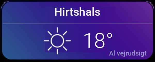 Vejret i Hirtshals