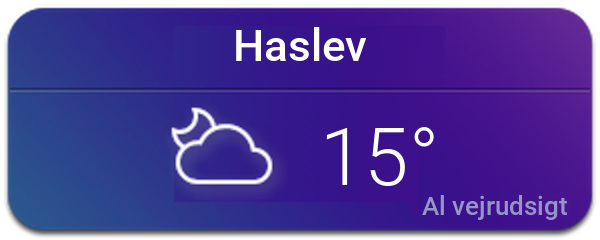 Vejret i Haslev