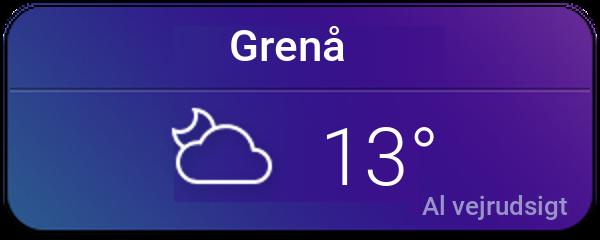 Vejret i Grenå