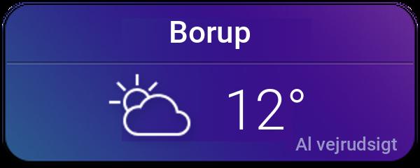 Vejret i Borup