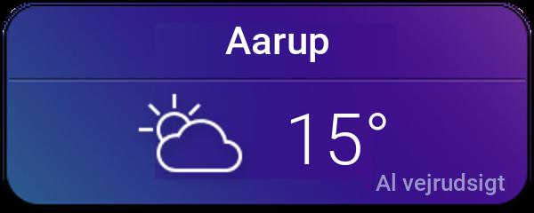 Vejret i Aarup