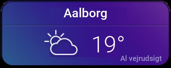 Vejret i Aalborg