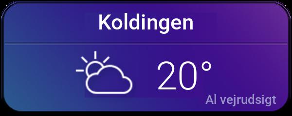 Vejret i Kolding